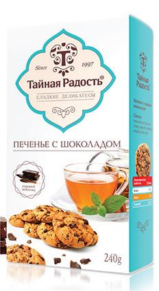 Дизайн упаковки печенья Тайная Радость