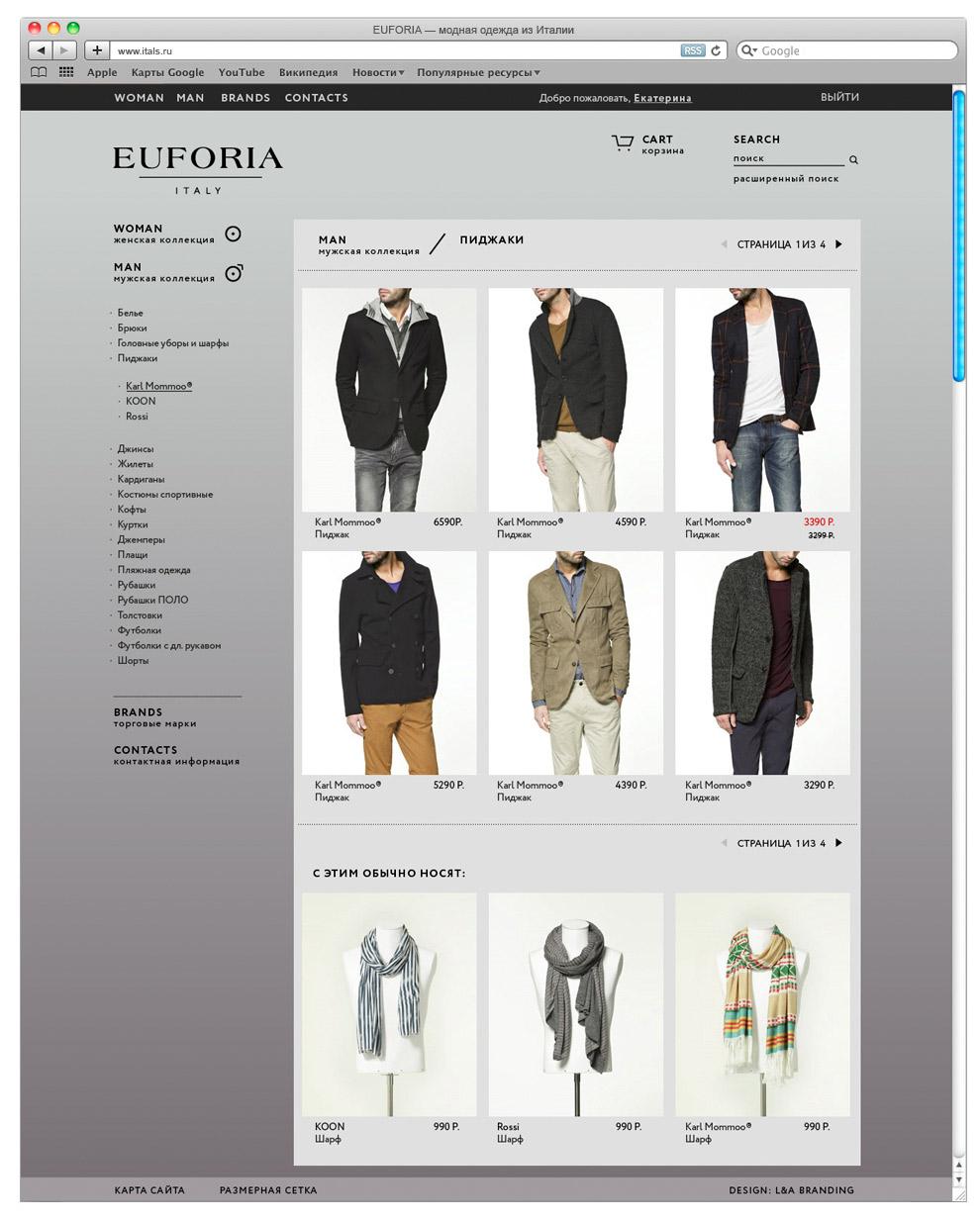 Все сайты стильной одежды